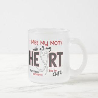 Srta. My Mom del cáncer de pulmón I Taza De Café Esmerilada