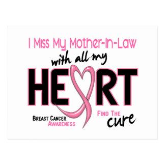 Srta. My Mother-In-Law del cáncer de pecho I Tarjetas Postales