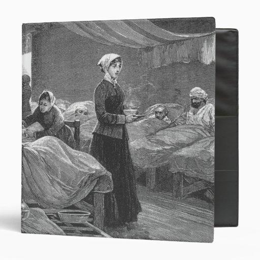 Srta. Nightingale en el hospital del cuartel