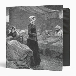 "Srta. Nightingale en el hospital del cuartel Carpeta 1 1/2"""