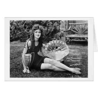 Srta. Philadelphia, 1900s tempranos Felicitación