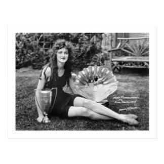 Srta. Philadelphia, 1900s tempranos Postales