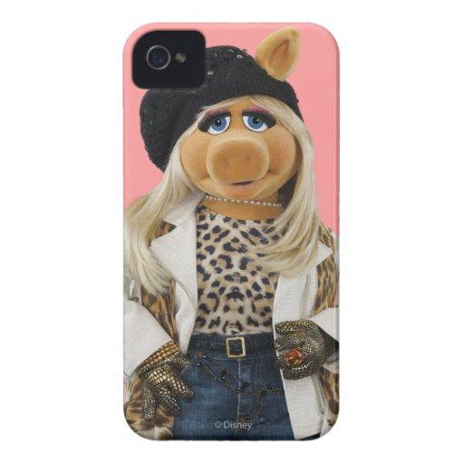 Srta. Piggy Case-Mate iPhone 4 Cobertura