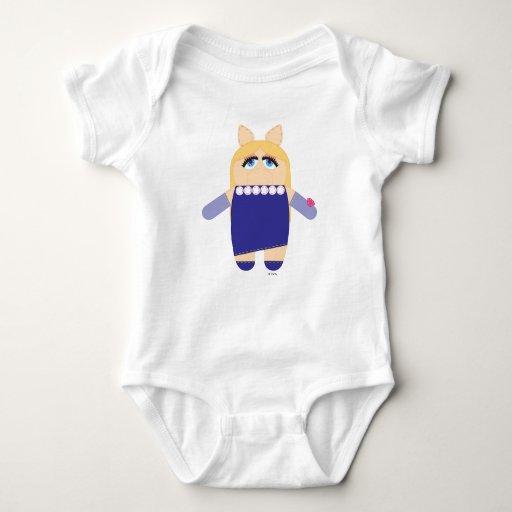 Srta. Piggy de Pook-a-Looz Body Para Bebé