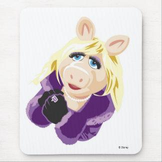 Srta. Piggy Disney de los Muppets Mousepads