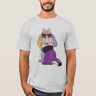 Srta. Piggy Disney de los Muppets Playera