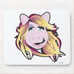 Srta. Piggy Disney de los Muppets Alfombrilla De Ratones