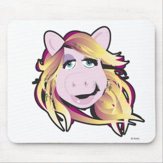 Srta. Piggy Disney de los Muppets Tapetes De Raton