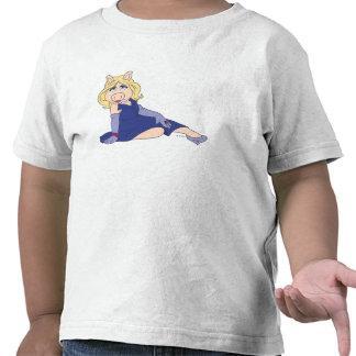 Srta. Piggy en vestido púrpura Camiseta