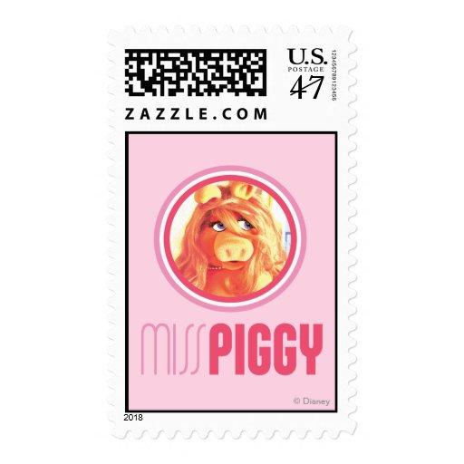 Srta. Piggy Model Sello Postal