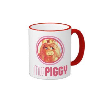 Srta. Piggy Model Taza A Dos Colores