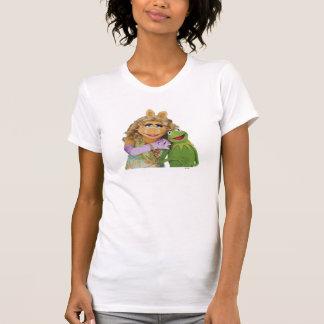 Srta Piggy y Kermit Camiseta