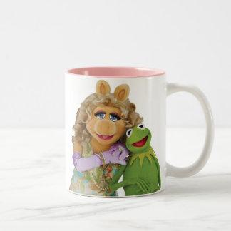 Srta. Piggy y Kermit Taza