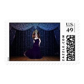 Srta. Priscilla Velvet Postage Envio