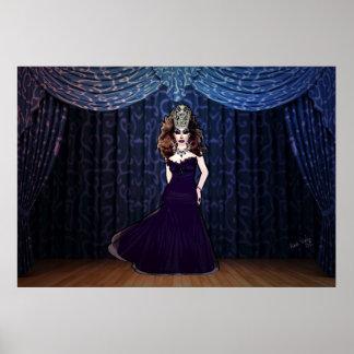 Srta. Priscilla Velvet Poster