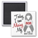 Srta. que falta My Mom 1 del cáncer de cerebro Imanes