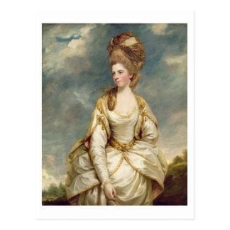 Srta. Sarah Campbell, 1777-78 (aceite en lona) Tarjeta Postal