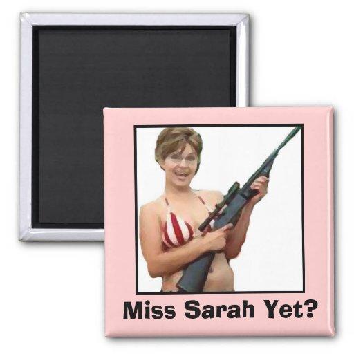 ¿Srta. Sarah Yet? Imán De Frigorifico