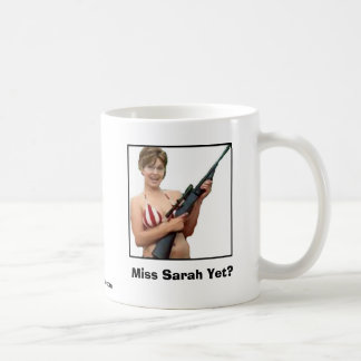 ¿Srta. Sarah Yet? Taza De Café