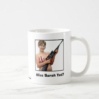 ¿Srta. Sarah Yet? Tazas