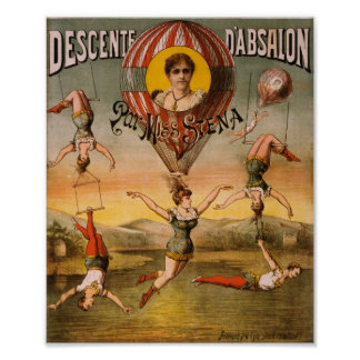 Srta Stena del par del d Absalon de Descente Poster