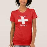 Srta. suiza camiseta
