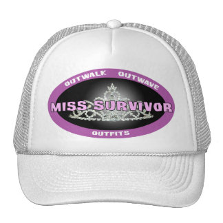 Srta. Survivor Hat Gorros