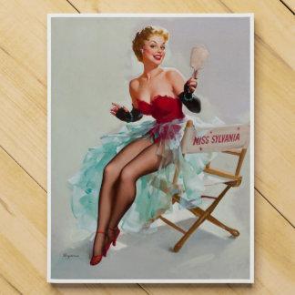 Srta. Sylvania Pin-Para arriba Girl Calendario De Adviento
