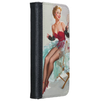 Srta. Sylvania Pin-Para arriba Girl Carcasa De iPhone 6