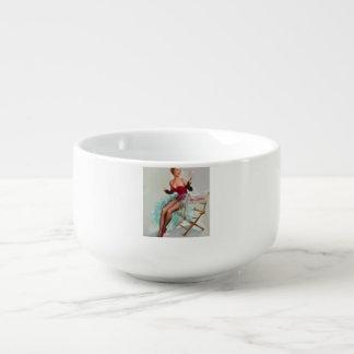 Srta. Sylvania Pin-Para arriba Girl Bol Para Sopa