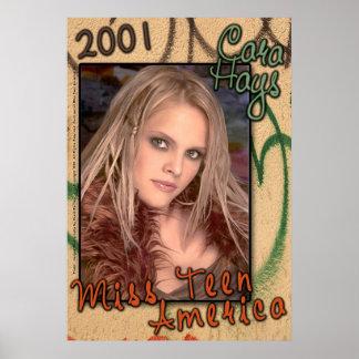 Srta. Teen América 2001 - poster 2