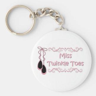 Srta. Twinkle Toes Llavero Personalizado