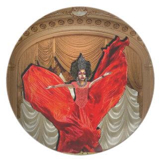 Srta. Vashanique Harris Plate Platos Para Fiestas