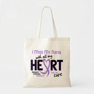 Srta. With All My Heart Nana del linfoma de Bolsa Tela Barata