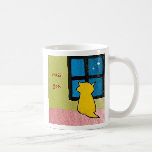 Srta. You Baby Cat Mug Tazas