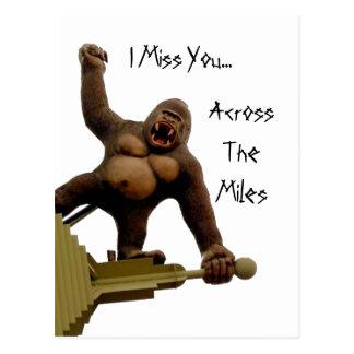 Srta. You de la postal/I de Kong Postal