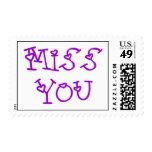 Srta. You Greeting Postage Franqueo