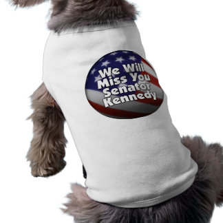 Srta. You Ted Kennedy Playera Sin Mangas Para Perro