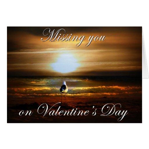 Srta. You Valentine Tarjeta