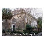 ss2, la capilla de St Stephen Felicitación