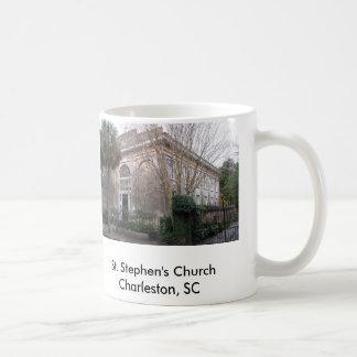 ss2, ststephens, ChurchCharleston de St Stephen… Taza Básica Blanca