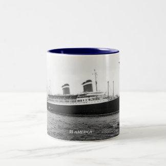 SS America Two-Tone Coffee Mug