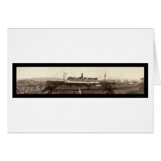 SS Ancon In Panama Photo 1939 Card