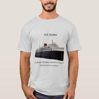 SS Badger National Historic Landmark shirt