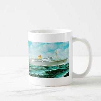 ss Bergensfjord at Sea Coffee Mug