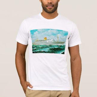 ss Bergensfjord at Sea T-Shirt