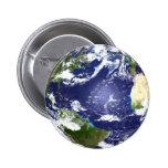 (SS) Botón de la tierra Pins