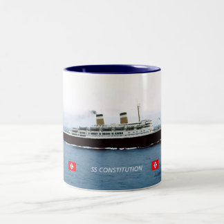 SS Constitution Two-Tone Coffee Mug