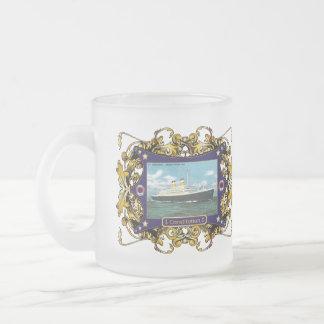 SS Constitution Vintage Ocean Liner Coffee Mugs