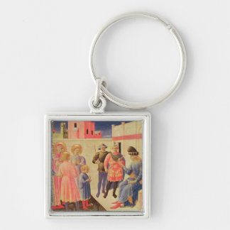 SS. Cosmas and Damian Before Diocletian Keychain